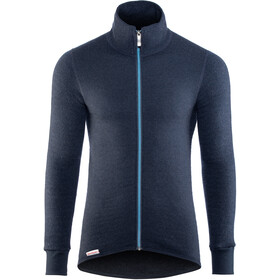 Woolpower Unisex 400 Full Zip Jacket Colour Collection dark navy/nordic blue